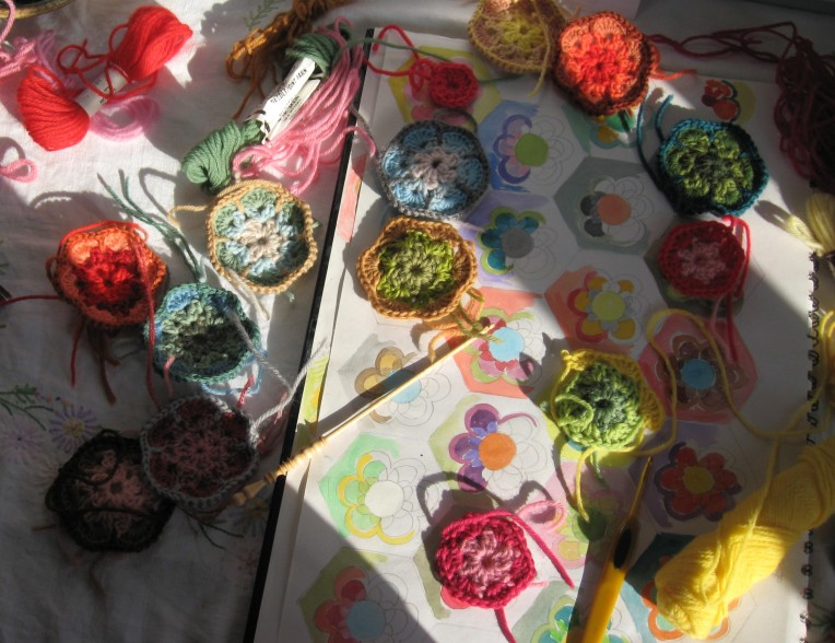 paperweight crochet colour planning 008