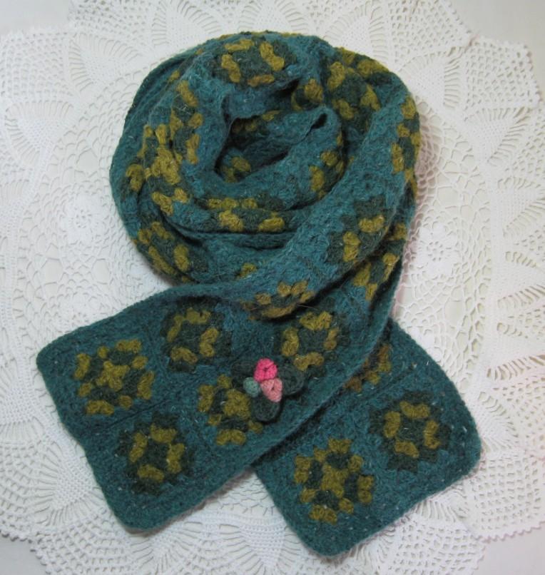 crochet scarf 012