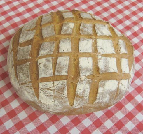 natural leavened bread