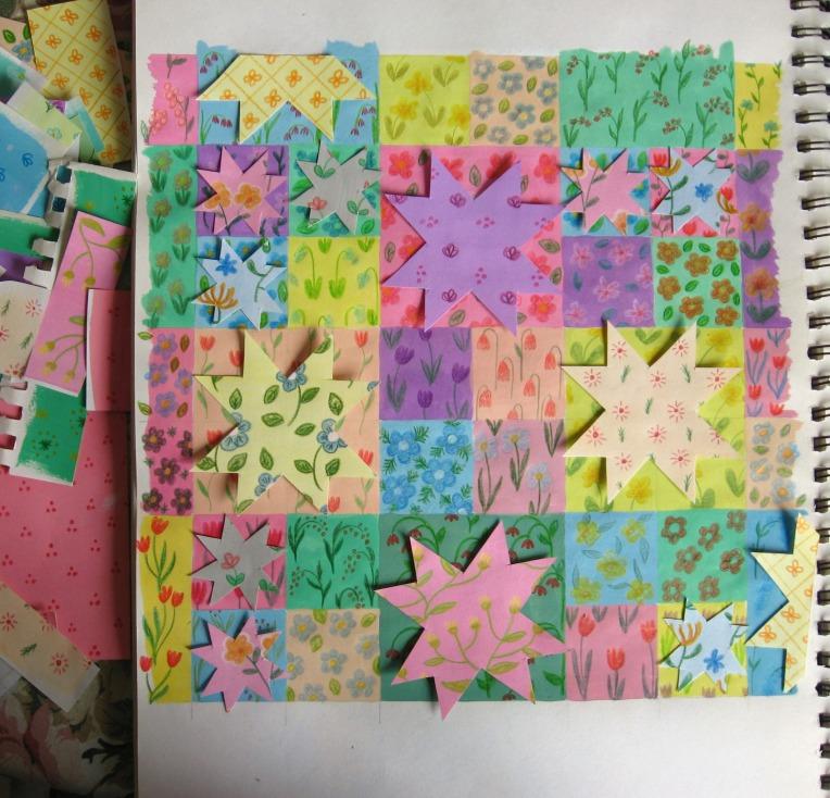 adding paper stars