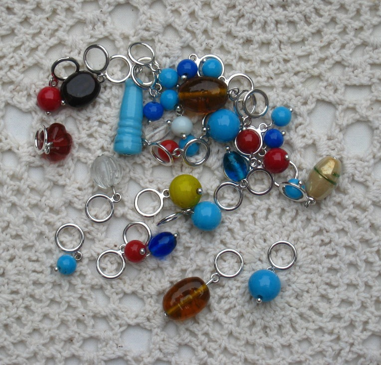 home made stitch markers